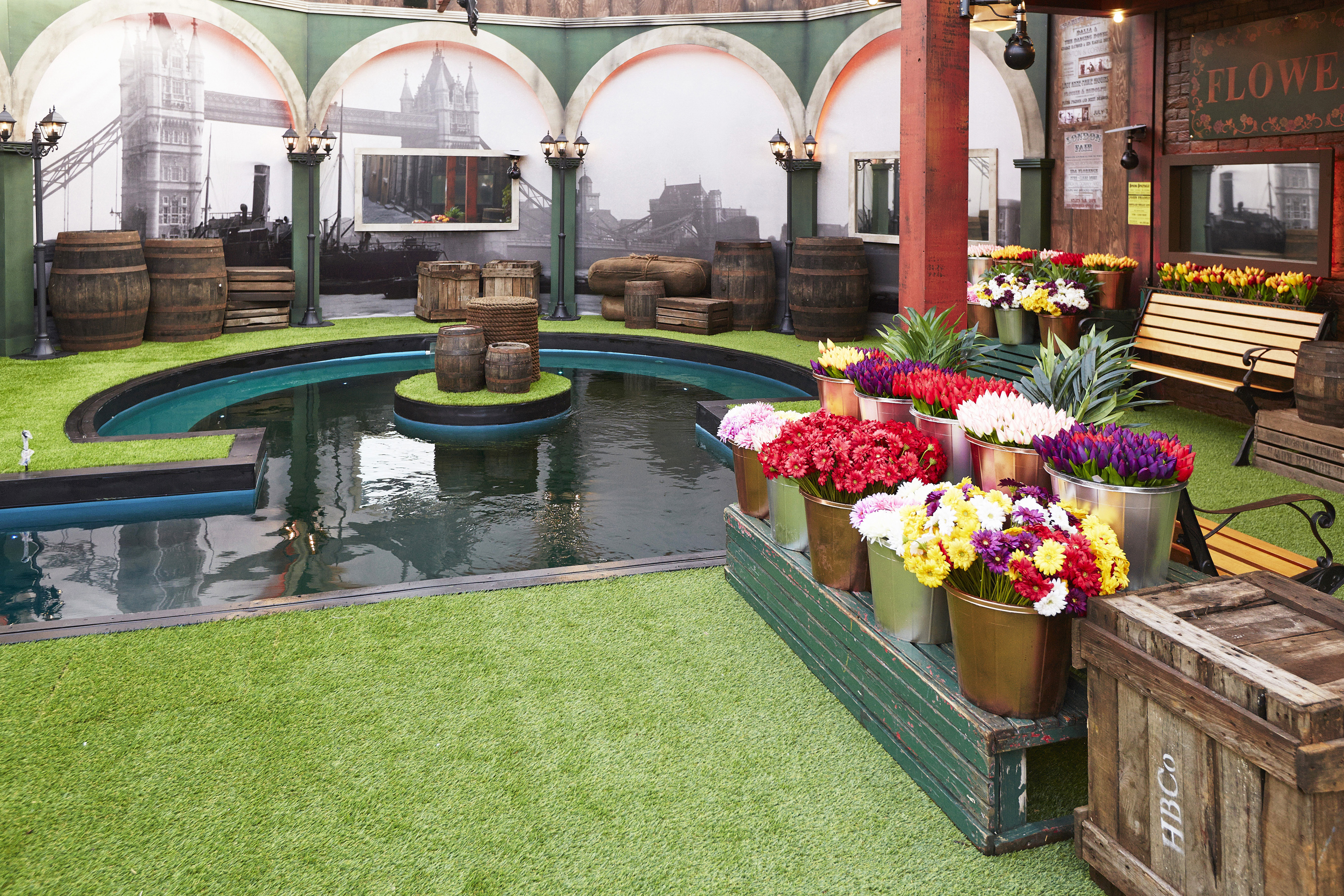 Celebrity Big Brother Season 2 House Pictures