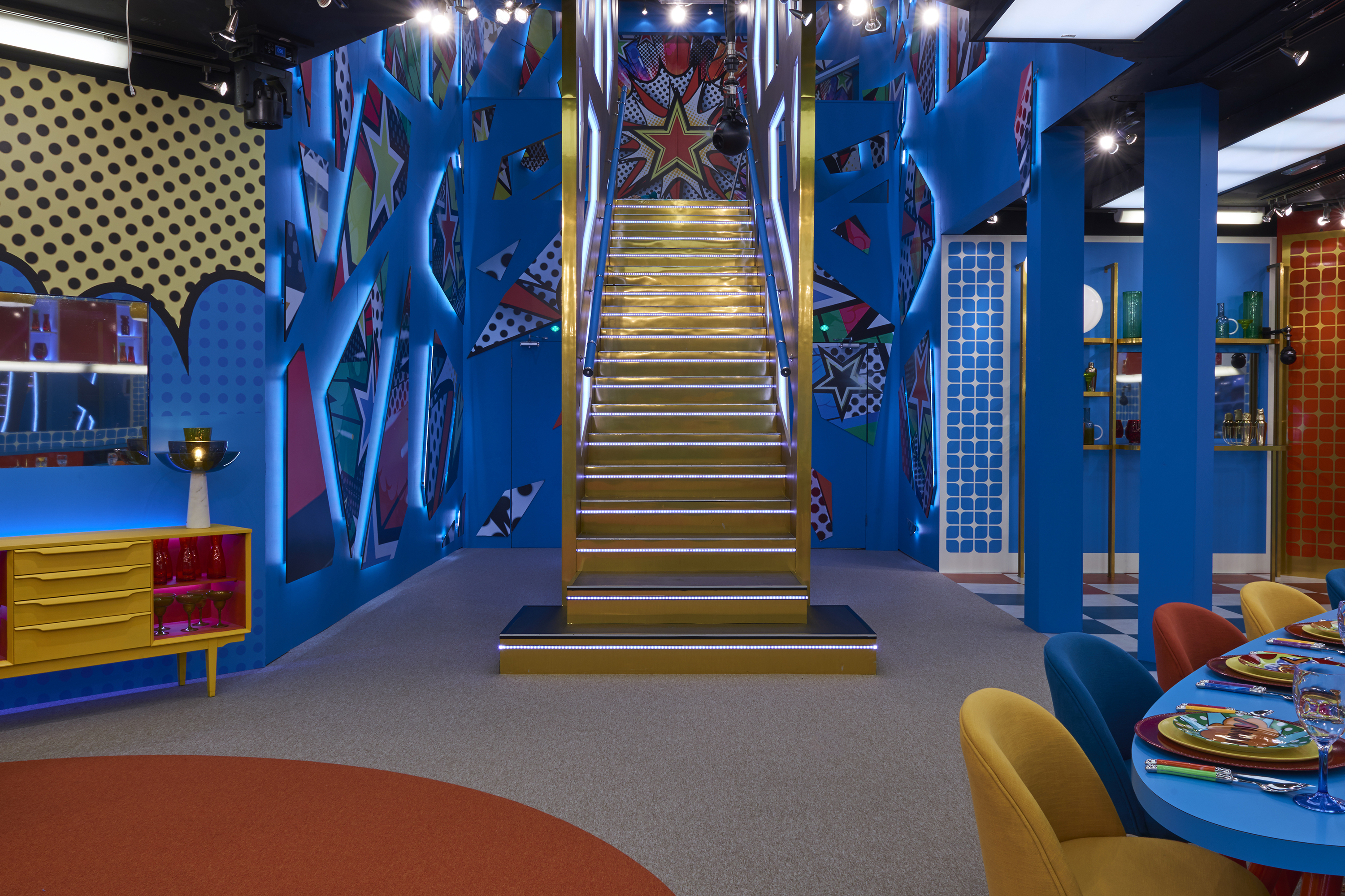 Big brother 12 house pictures